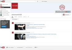 PremiumProducts auf Youtube: Follow us on Youtube