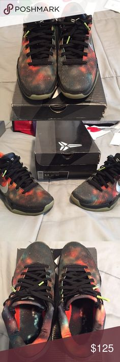 """Kobe Bryant VII """"Galaxy"""" Worn but still in great condition! The box is the only flaw but the shows are in really good condition. Fast Shipment. Nike Shoes Sneakers"""