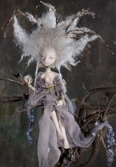 katya tal's art dolls - Art Dolls by Katya Tal Would love to start a collection of these dolls!