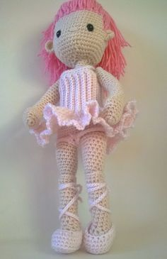 Ravelry: Ballerina Outfit - my little crochet doll by Betty Virago
