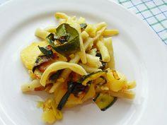 Grillowana cukinia z ziemniaczkami i fasolką szparagową