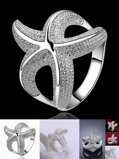 [Visit to Buy] Ring Silver Plated Ring sterling-silver-jewelry ring factory prices fashion ring /BQTRQDRB WQYFECBK #Advertisement