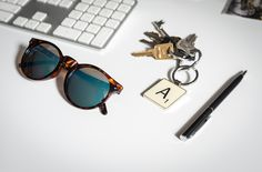 Official Scrabble keyrings by Wild & Wolf