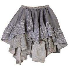 84bcdaa53e Paper Wings Frilled Chambray Skirt, 2 (Grey) Paper Wings http://. Cute Kids  FashionLittle ...