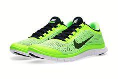 Nike Free 3.0 V5 Flash Lime