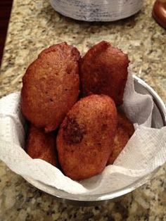 Alcapurrias Recipe. Alcapurrias is a puertorican fritter filled with ground beef.