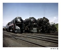 The Magnificent Three by Norfolk Southern, via Flickr