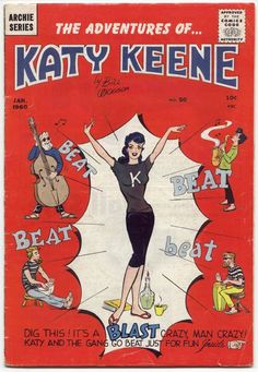 """The Adventures of Katy Keene"" comic book"