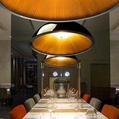 Grande Suspension design Umbrella Blanc