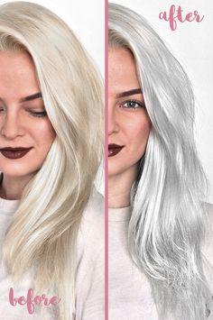 Top 5 Best Sulfate Free Purple Shampoos To Tone Blonde Hair Say goodbye to brassy or yellow hair and hello to beautiful platinum blonde or silver hair thanks to these awesome sulfate free purple shamp Blond Shampoo, Lila Shampoo, Shampoo For Gray Hair, Blonde Hair Purple Shampoo, Ombre Hair, Best Silver Shampoo, Silver Blonde Hair, Platinum Blonde Hair, Silver Hair Toner