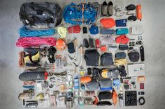 Who likes packing? Who likes laying out all their gear on the floor for gear freak photographs? Who knows what I forgot to put in the shot? ....one item....very important for survival. It will be coming thanks to my checklist.  I'm off to Nepal today for a climb of the very beautiful Ama Dablam. I'm currently 2 kilos over the baggage limit of 30kg....so I may be wearing a few extra layers.   #Mountaineering #Climbing #FirstLightGuiding #Adventure  #newzealandpics #goNZ #nzphotography…