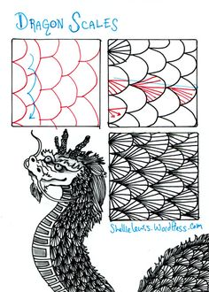 Tangle Dragon Scales