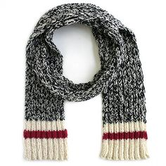 Sock Monkey Scarf - PDF pattern | Knitca™
