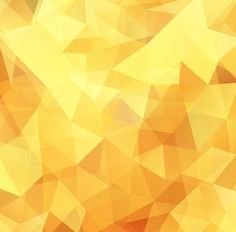 Yellow Low Poly Design Abstract Background Vector Illustration