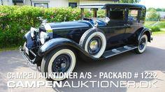 Campen Auktioner A/S - Packard 640 Club Sedan 1929 #1222
