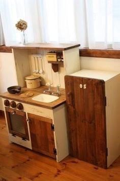 インテリアとしても楽しめる、可愛い「ままごとキッチン」の画像集 - NAVER まとめ