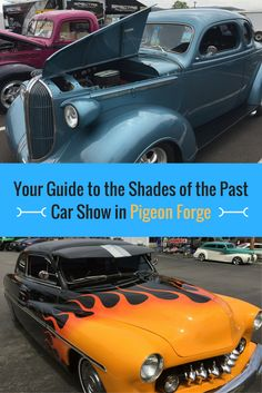 Get all the details you need for the #ShadesofthePast #RodRun in #PigeonForge