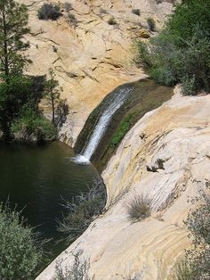 Pool at upper calf creek falls utah emerald waters by - Swimming pools in great falls montana ...