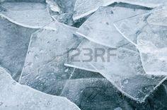 Eisschollen, eiskalt, Frosttage