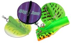 Dive Planers & Discs behind Off-Shore Tackle inline planer boards