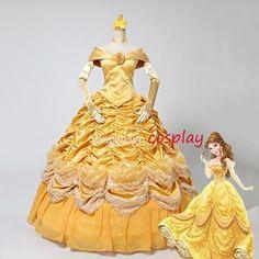 Belle Costume Gown Belle Costume, Costume Collection, Gowns, Costumes, Disney Princess, Vestidos, Dresses, Dress Up Clothes, Fancy Dress