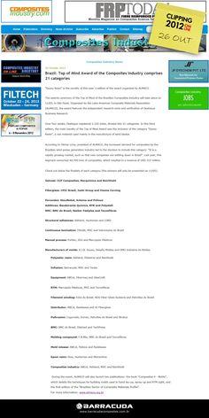 ::Composites Industry::  Os mais votados no Top of Mind 2012 da ALMACO  Acesse o link da matéria http://www.compositesindustry.com/fullnews.php?ids=207