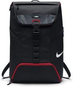 Nike LeBron Max Air Ambassador 2.0 Backpack Black Red Nike Lebron, Black  Backpack, 0d481fae6a
