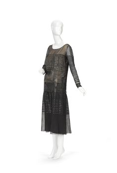 Evening dress circa 1925, Lanvin | National Gallery of Victoria, Melbourne