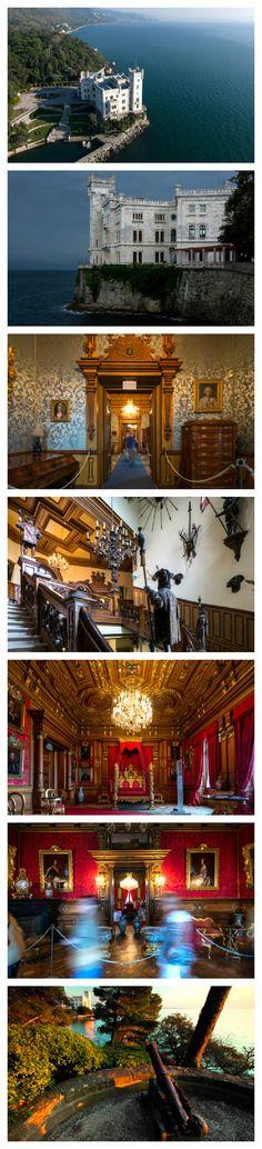 Alla scoperta del Castello di Miramare  Lovely. Go see it. Don't rush. Savor the time there.