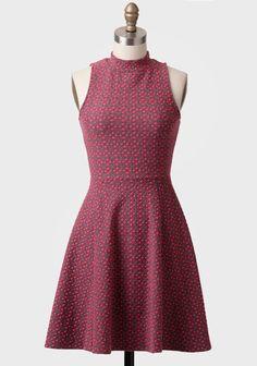 Modern Darling Printed Dress at #Ruche @Ruche
