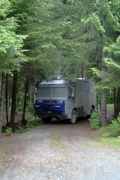 Fort Bragg offers a number of scenic RV parks.