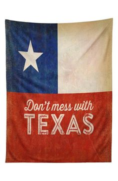 DENY Designs 'Anderson Design Group - Don't Mess With Texas' Tapestry available at #Nordstrom
