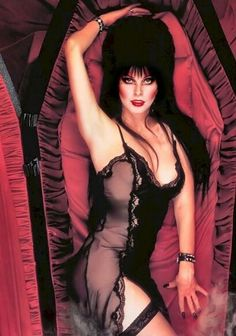 Sexy Elvira on car tracker