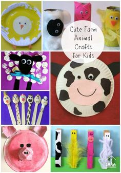 farm animal arts and crafts for kids