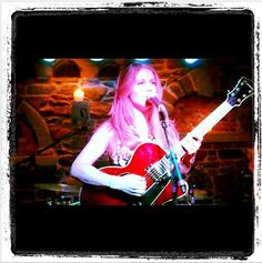 Ani DiFranco's home court Babeville. Valerie Mize when she opened for Willie Nelson's kid Paula Nelson Dec 18, 2010. She returns yearly