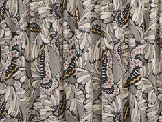 Monarch Butterly Blended Rayon Knit Fabric - None