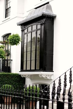 The details of an exterior. via the curious bumblebee
