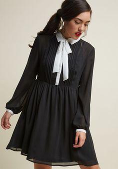 ea699542877266 Detail Your Delight Chiffon Shirt Dress