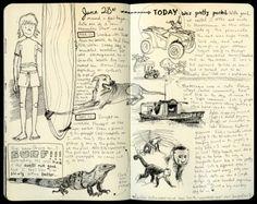 Moleskine - Illustrated Journal