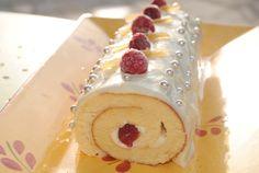 Recette Bûche Chocolat Blanc Fruits Rouges
