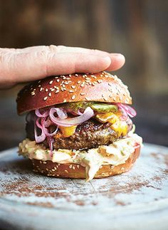 Insanity Burger by Jamie Oliver