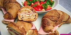 Nyomtasd ki a receptet egy kattintással Pizza Croissant, Paleo Pizza, Partys, French Toast, Brunch, Food And Drink, Low Carb, Bread, Vegan