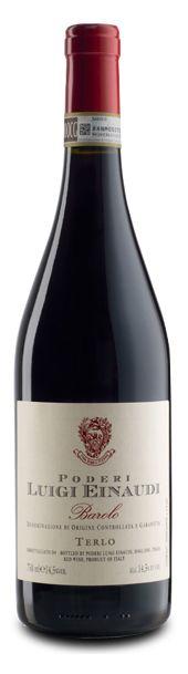 Terlo - Barolo - Poderi Einaudi #vino #wine #naming #design