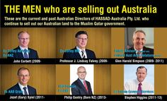 Australian Survival and Preppers..: Selling out Australian land to Islamic governments...