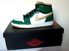 Air Jordan 1 Retro OG High Celtics via http://www.kixandthecity.com/