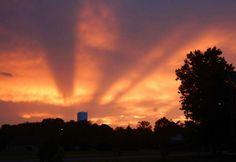 Roanoke sunset