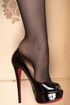 black high heels at walmart Sexy Legs And Heels, Platform High Heels, Black High Heels, High Heel Boots, High Heel Pumps, Pumps Heels, Heeled Boots, Stiletto Heels, Pantyhose Heels