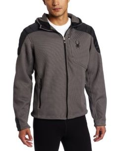 Men's Spyder Clothing Sale   Amazon.com: Spyder Men's Outsetter Hybrid Hoody Mid Weight Core ...