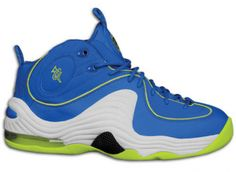 Nike Air Penny II (2) Soar Cyber aka Sprite Available Now on http://www.kixandthecity.com/nike-air-penny-ii-2-soar-cyber-aka-sprite-available-now/