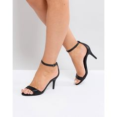 066b6bae196c Steve Madden Barely There Sandals ( 46) ❤ liked on Polyvore featuring shoes